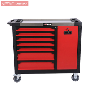 CD-4107PRO 41 Inch Tool Cabinet / Tool Trolley with 7 Drawers